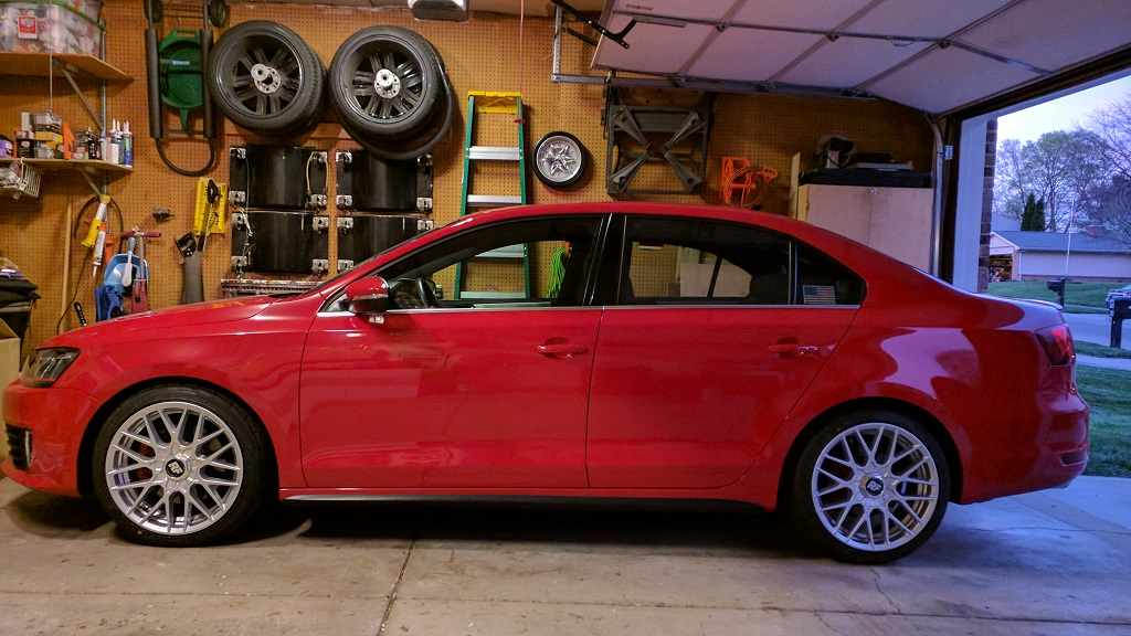 VWVortex com - Grounded to the Ground - VWR Sport Springs Review
